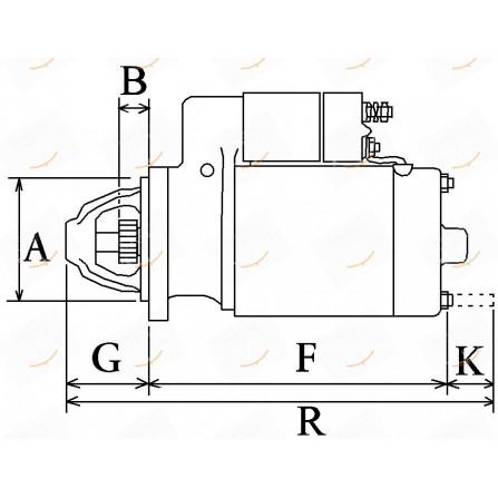 MOTORINO 12V 1.2KW  23-111398