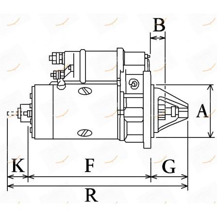 MOTORINO 12V 2.5KW  23-112267