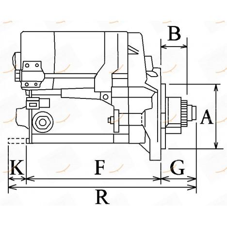 MOTORINO 12V 2.7KW  23-113114