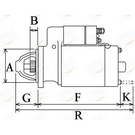 MOTORINO 12V 3.0KW  23-113182