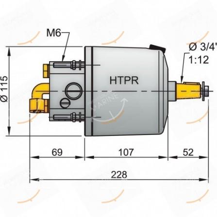 POMPA HTP3010R