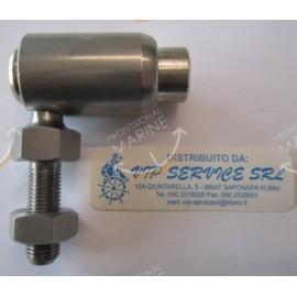 SNODO SFERICO INOX
